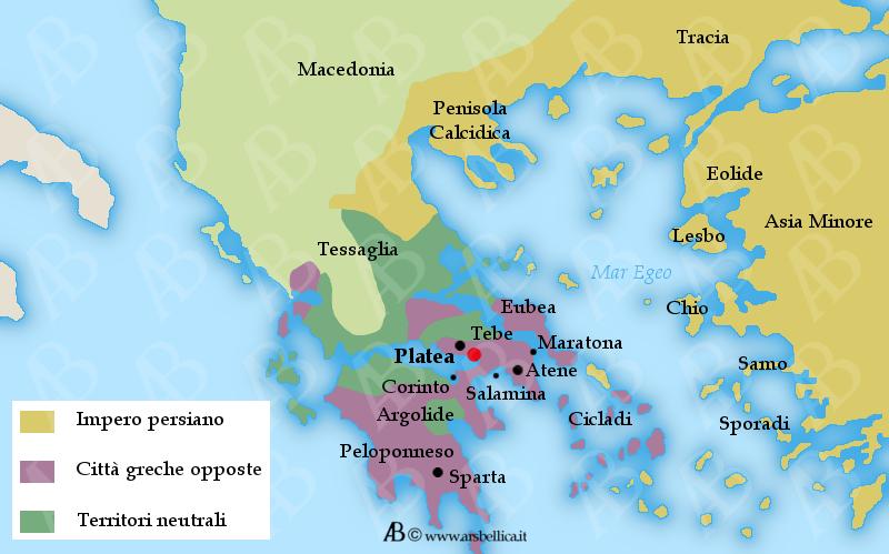 Battaglia Di Platea Le Grandi Battaglie Della Storia Ars Bellica