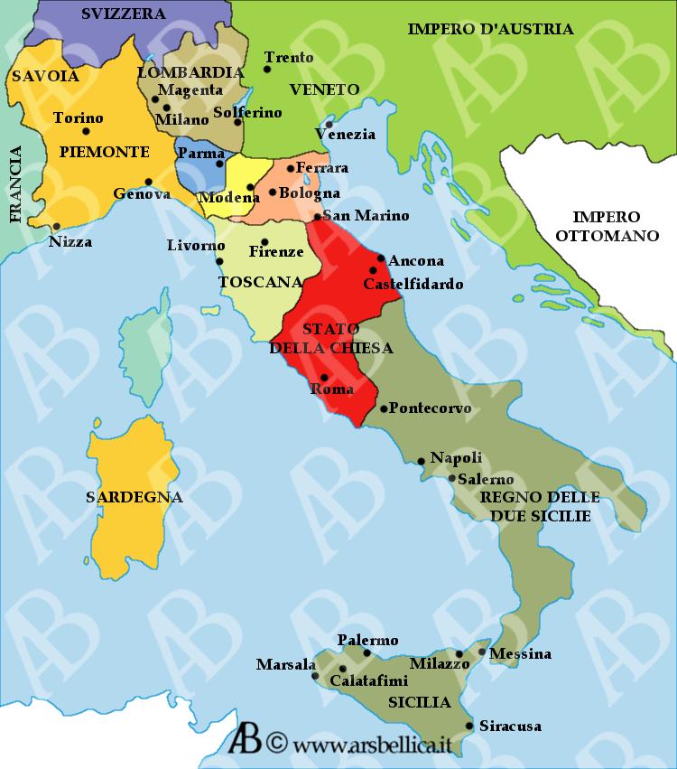 Cartina Italia 1860.Battaglia Di Solferino E San Martino Le Grandi Battaglie Della Storia Ars Bellica