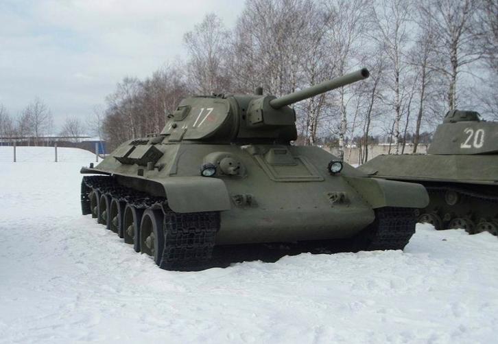 Battaglia di Sta...T 34 Tank Stalingrad
