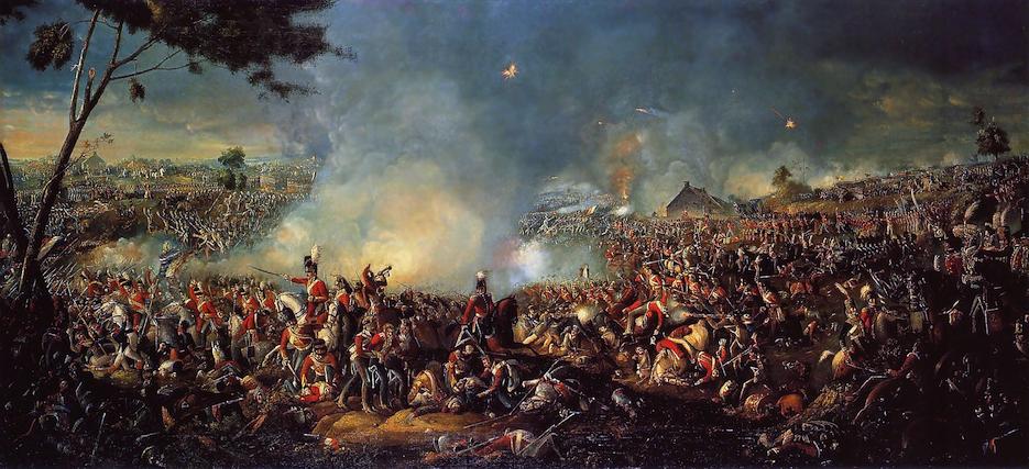 Battaglia Waterloo Sadler